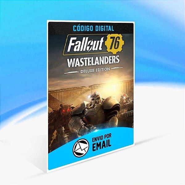 Fallout 76: Wastelanders Deluxe Edition - Xbox One Código 25 Dígitos