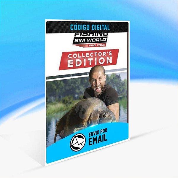 Fishing Sim World®: Pro Tour - Collector's Edition - Xbox One Código 25 Dígitos