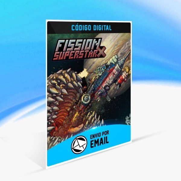 Fission Superstar X - Xbox One Código 25 Dígitos