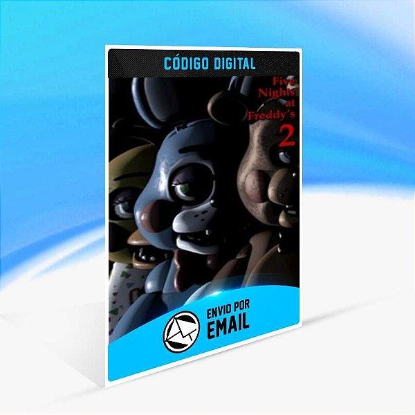 Five Nights at Freddy's 2 - Xbox One Código 25 Dígitos