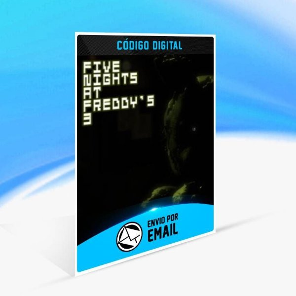Five Nights at Freddy's 3 - Xbox One Código 25 Dígitos