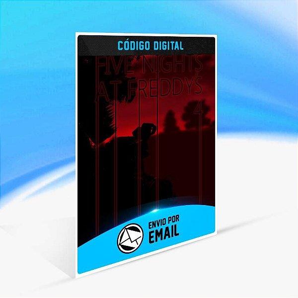 Five Nights at Freddy's 4 - Xbox One Código 25 Dígitos