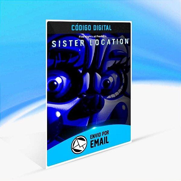 Five Nights at Freddy's: Sister Location - Xbox One Código 25 Dígitos