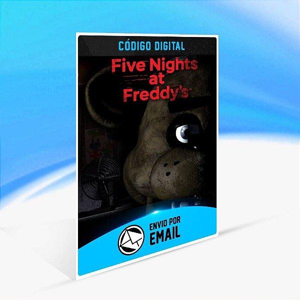 Five Nights at Freddy's - Xbox One Código 25 Dígitos