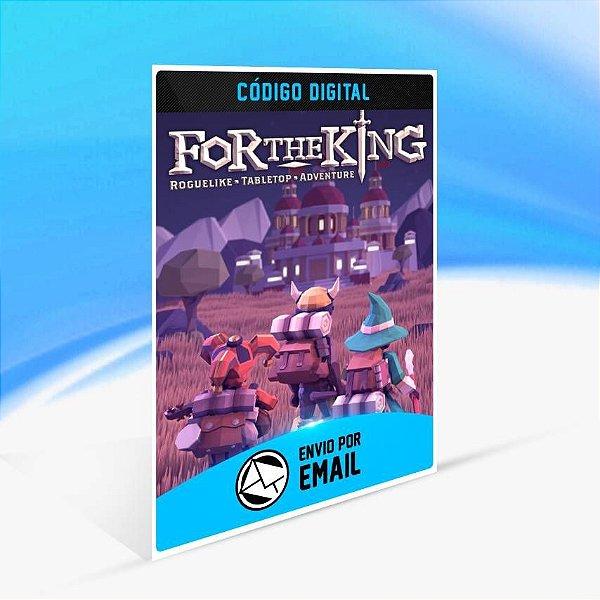 For The King - Xbox One Código 25 Dígitos