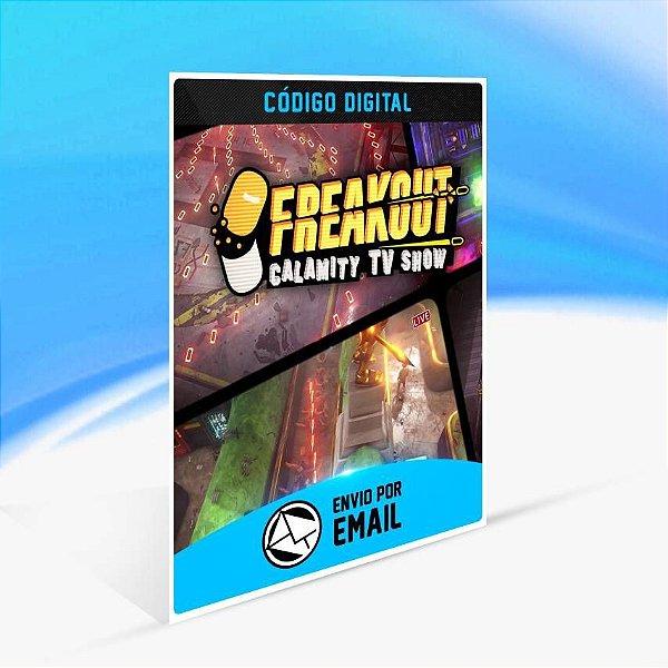Freakout: Calamity TV Show - Xbox One Código 25 Dígitos