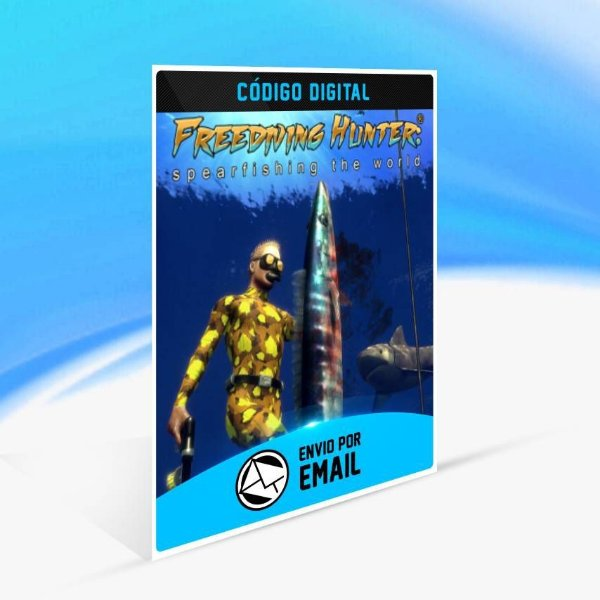 Freediving Hunter: Spearfishing the World - Xbox One Código 25 Dígitos