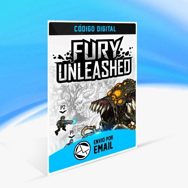Fury Unleashed - Xbox One Código 25 Dígitos