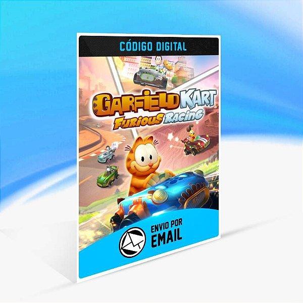 Garfield Kart Furious Racing - Xbox One Código 25 Dígitos
