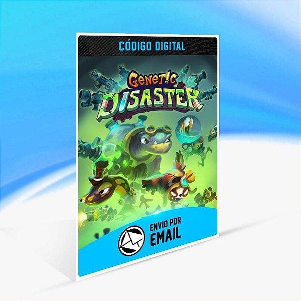 Genetic Disaster - Xbox One Código 25 Dígitos