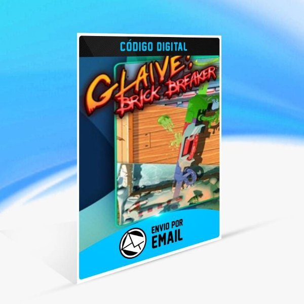 Glaive: Brick Breaker - Xbox One Código 25 Dígitos