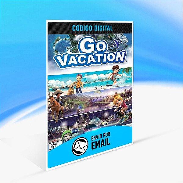 Go Vacation - Nintendo Switch Código 16 Dígitos