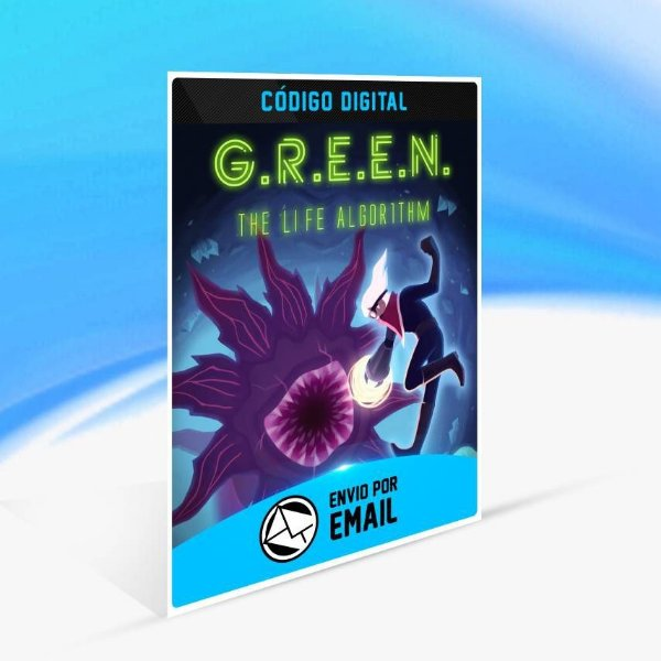 GREEN The Life Algorithm - Xbox One Código 25 Dígitos