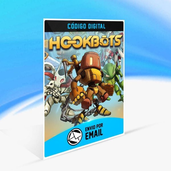 Hookbots - Xbox One Código 25 Dígitos