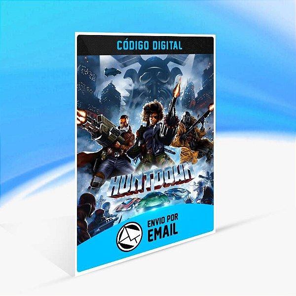 Huntdown - Xbox One Código 25 Dígitos