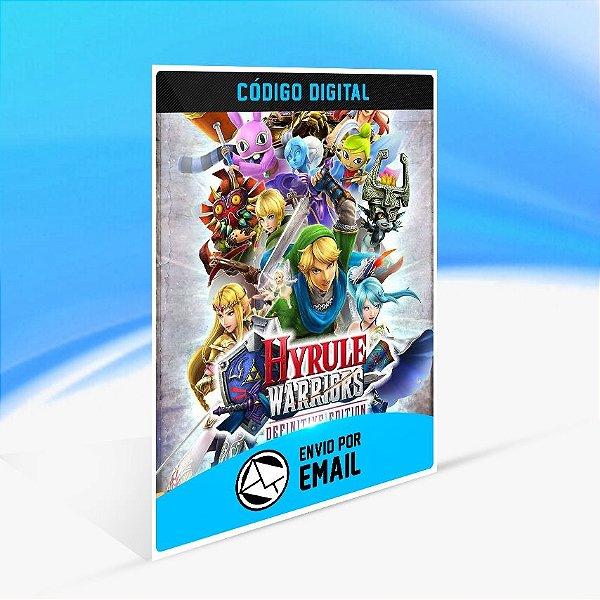 Hyrule Warriors Definitive Edition - Nintendo Switch Código 16 Dígitos