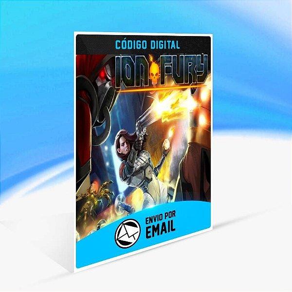 Ion Fury - Xbox One Código 25 Dígitos