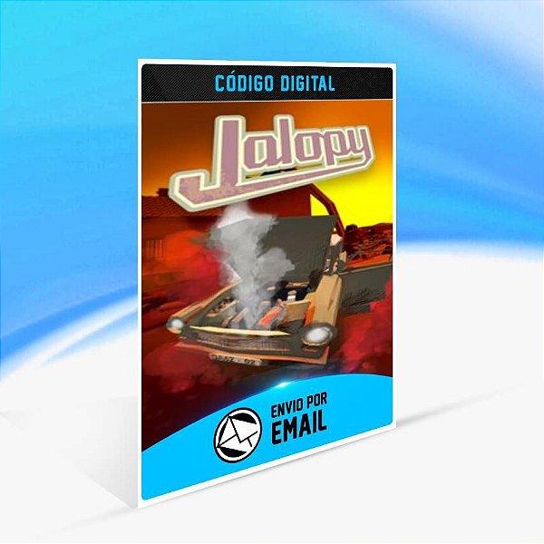 Jalopy - Xbox One Código 25 Dígitos