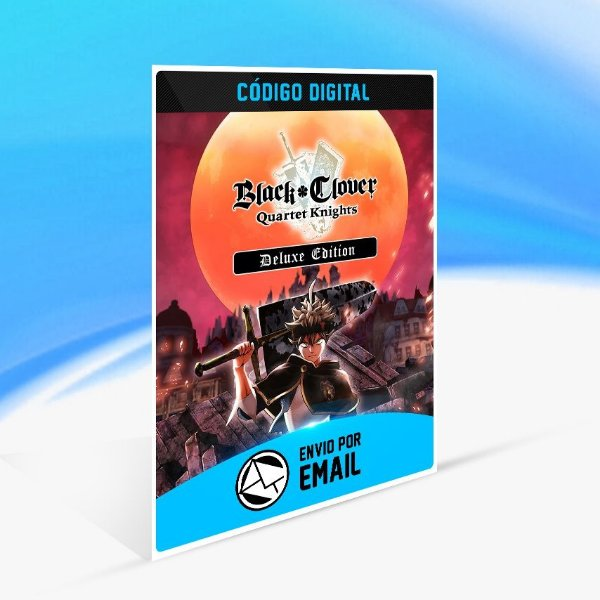 Jogo BLACK CLOVER  QUARTET KNIGHTS - Deluxe Edition Steam - PC Key
