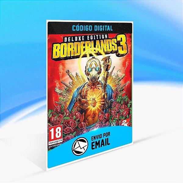 Jogo Borderlands 3 Deluxe Steam - PC Key