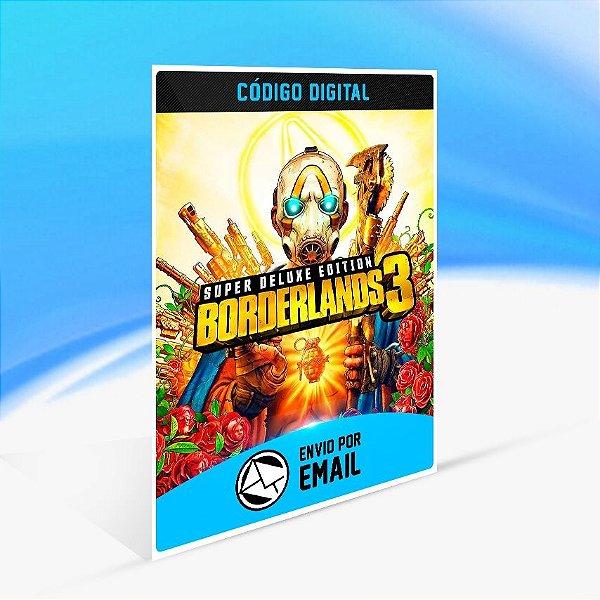 Jogo Borderlands 3 Super Deluxe Steam - PC Key