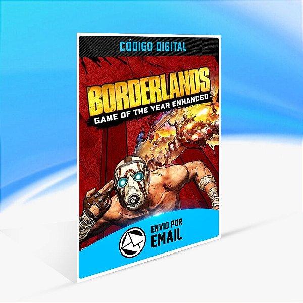 Jogo Borderlands Game of the Year Enhanced Steam - PC Key