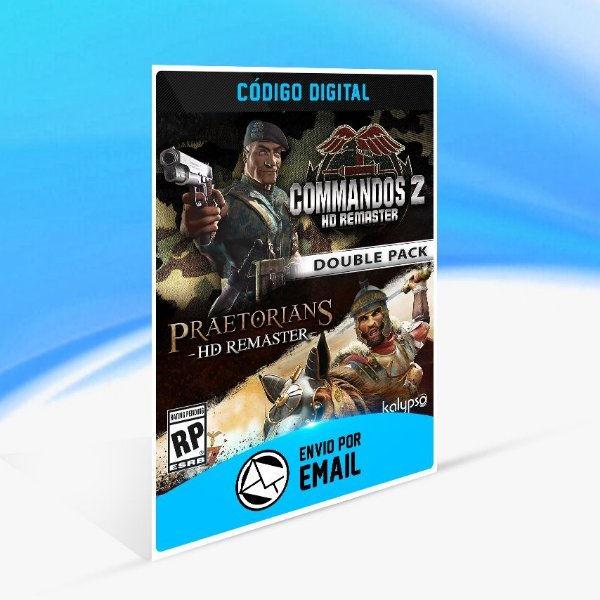 Jogo Commandos 2 & Praetorians HD Remaster Double Pack Steam - PC Key