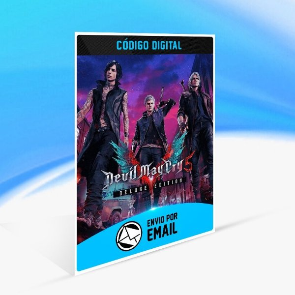 Jogo Devil May Cry 5 - Deluxe Edition Steam - PC Key