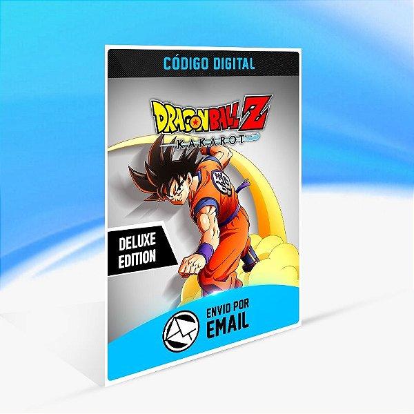 Jogo DRAGON BALL Z  KAKAROT - Deluxe Edition Steam - PC Key