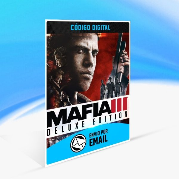 Jogo Mafia III - Digital Deluxe Edition Steam - PC Key