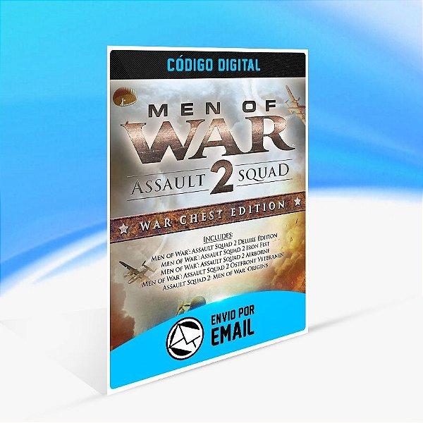 Jogo Men of War Assault Squad 2 - War Chest Edition Steam - PC Key