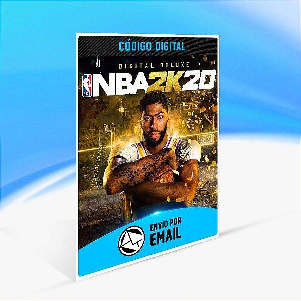 Jogo NBA 2K20 - Digital Deluxe Steam - PC Key