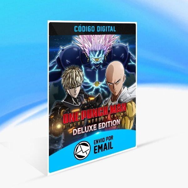 Jogo ONE PUNCH MAN A HERO NOBODY KNOWS - DELUXE EDITION Steam - PC Key