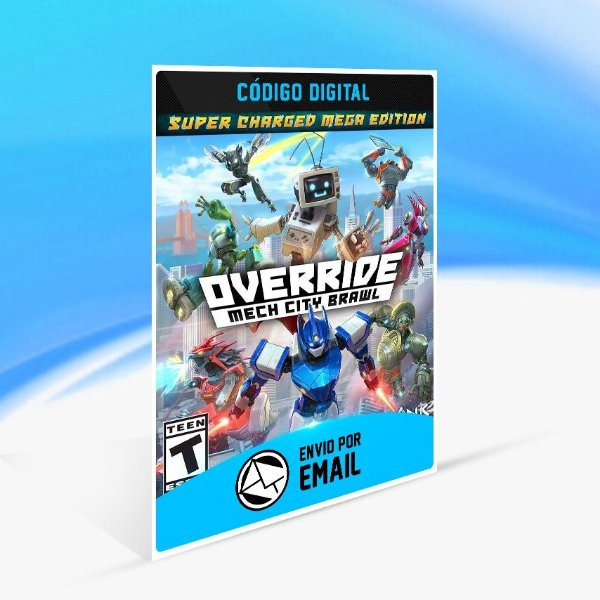 Jogo Override  Mech City Brawl - Super Charged Mega Edition Steam - PC Key