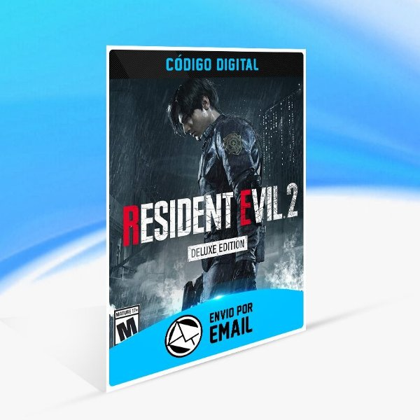 Jogo RESIDENT EVIL 2 BIOHAZARD RE 2 - DELUXE EDITION Steam - PC Key