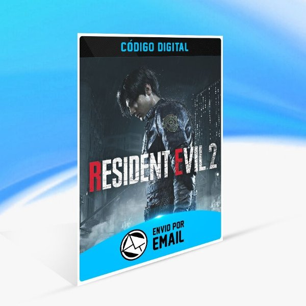 Jogo RESIDENT EVIL 2 BIOHAZARD RE 2 Steam - PC Key