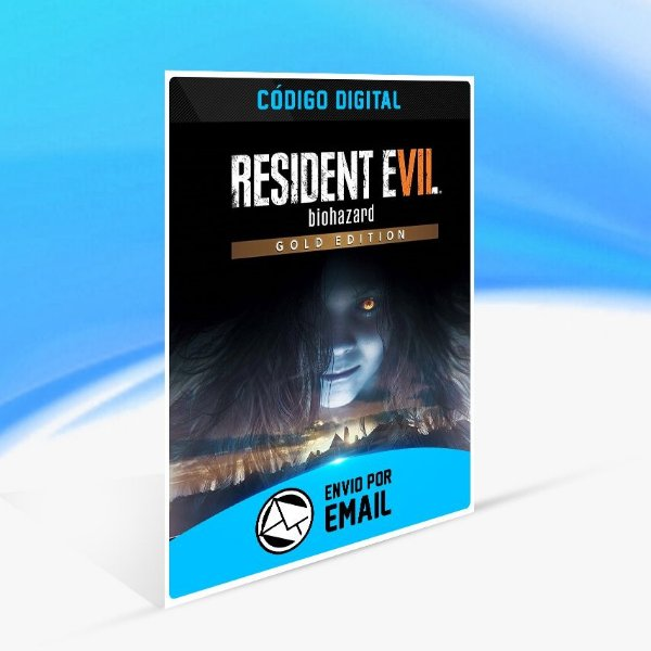 Jogo RESIDENT EVIL 7 biohazard Gold Edition Steam - PC Key