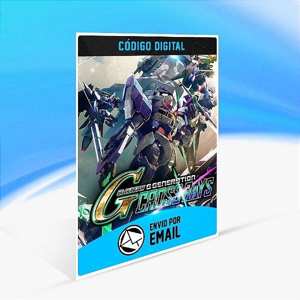 Jogo SD GUNDAM G GENERATION CROSS RAYS Steam - PC Key