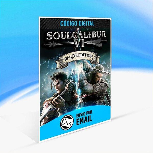 Jogo SOULCALIBUR VI - Deluxe Edition Steam - PC Key