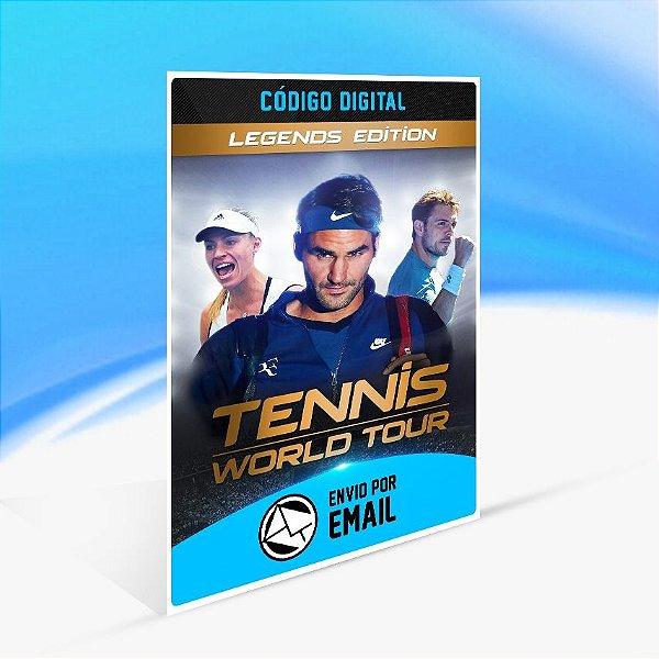 Jogo Tennis World Tour - Legends Edition Steam - PC Key