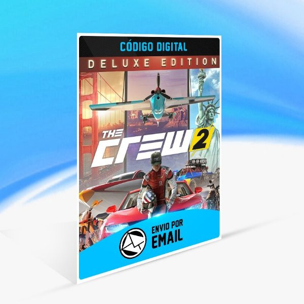 Jogo The Crew 2 - Deluxe Edition Uplay - PC Key