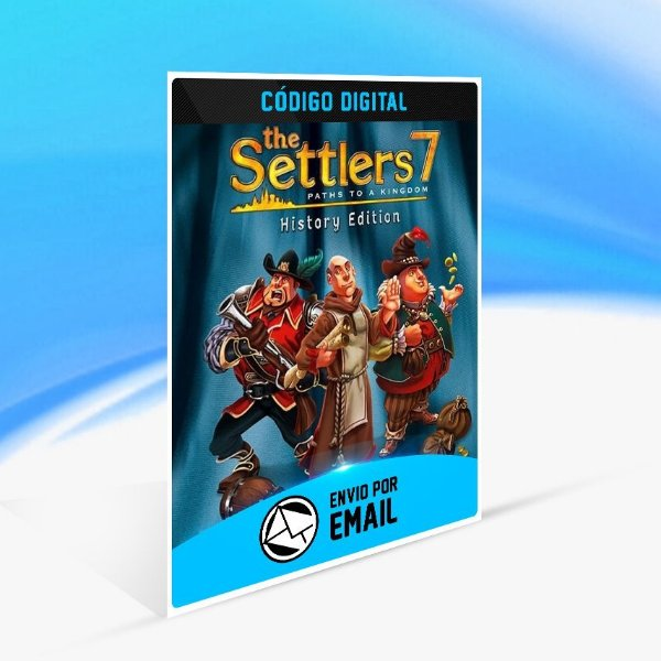 Jogo The Settlers 7  History Edition Steam - PC Key