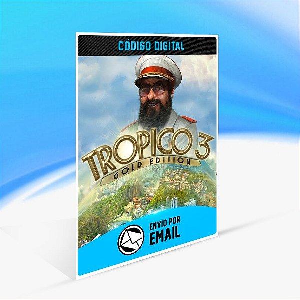 Jogo Tropico 3 Gold Edition Steam - PC Key