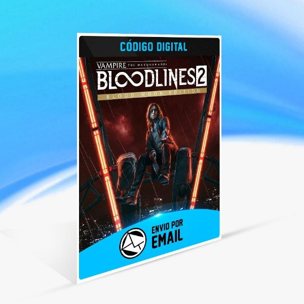 Jogo Vampire  The Masquerade - Bloodlines 2  Blood Moon Edition Steam - PC Key