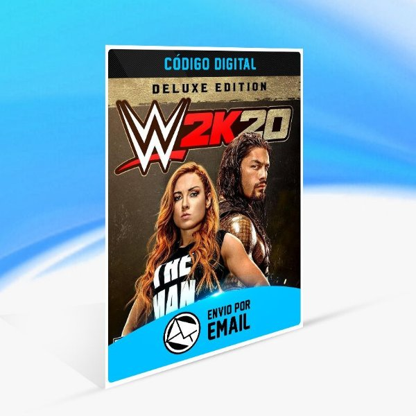 Jogo WWE 2K20 - Deluxe Edition Steam - PC Key