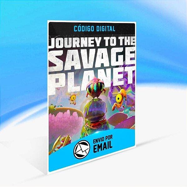 Journey to the Savage Planet - Xbox One Código 25 Dígitos
