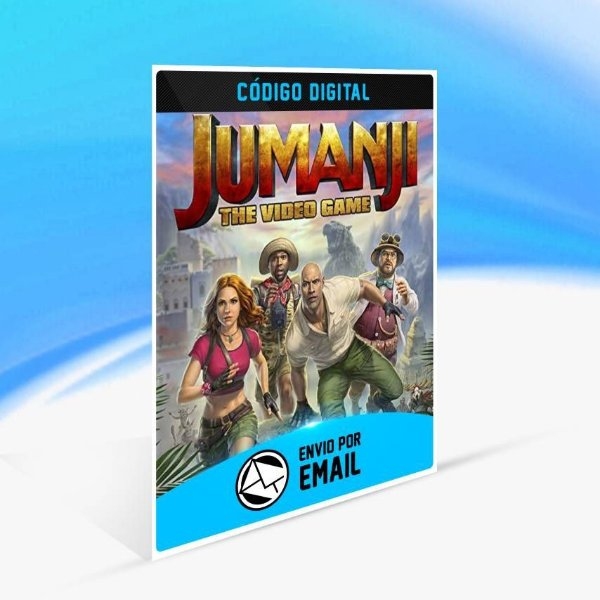 JUMANJI: o video game - Xbox One Código 25 Dígitos
