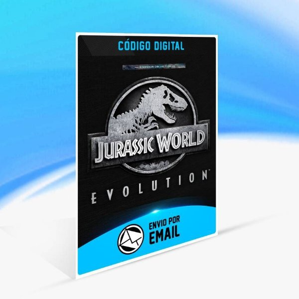 Jurassic World Evolution: Coleção Dinossauros - Xbox One Código 25 Dígitos