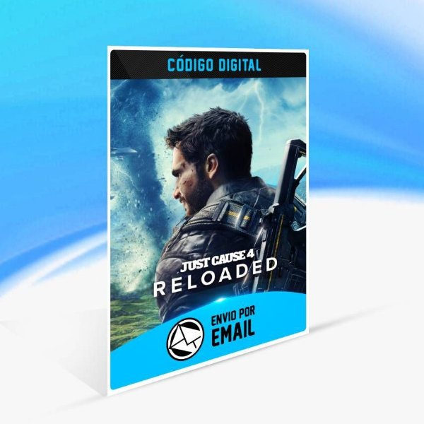Just Cause 4: Reloaded - Xbox One Código 25 Dígitos