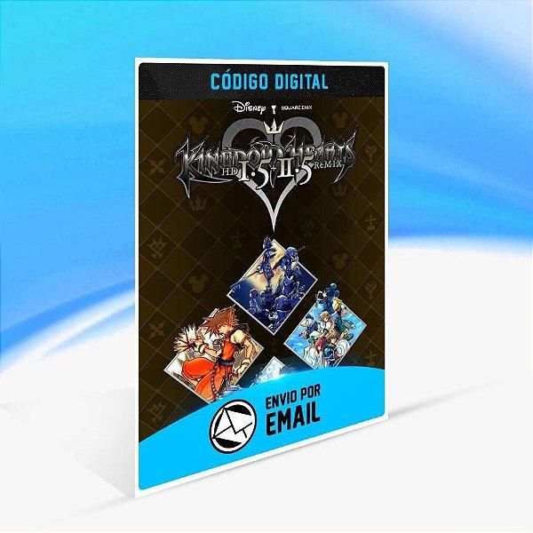 KINGDOM HEARTS - HD 1.5+2.5 ReMIX - Xbox One Código 25 Dígitos